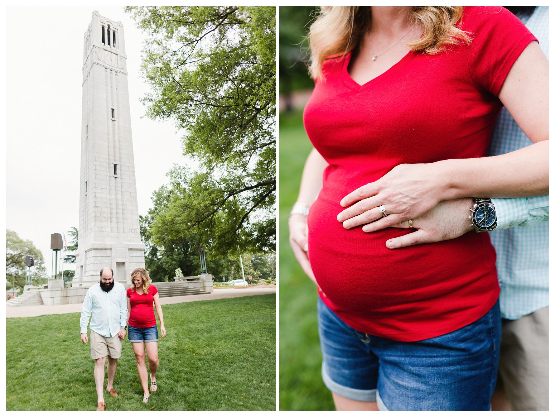 NC State Maternity Photography