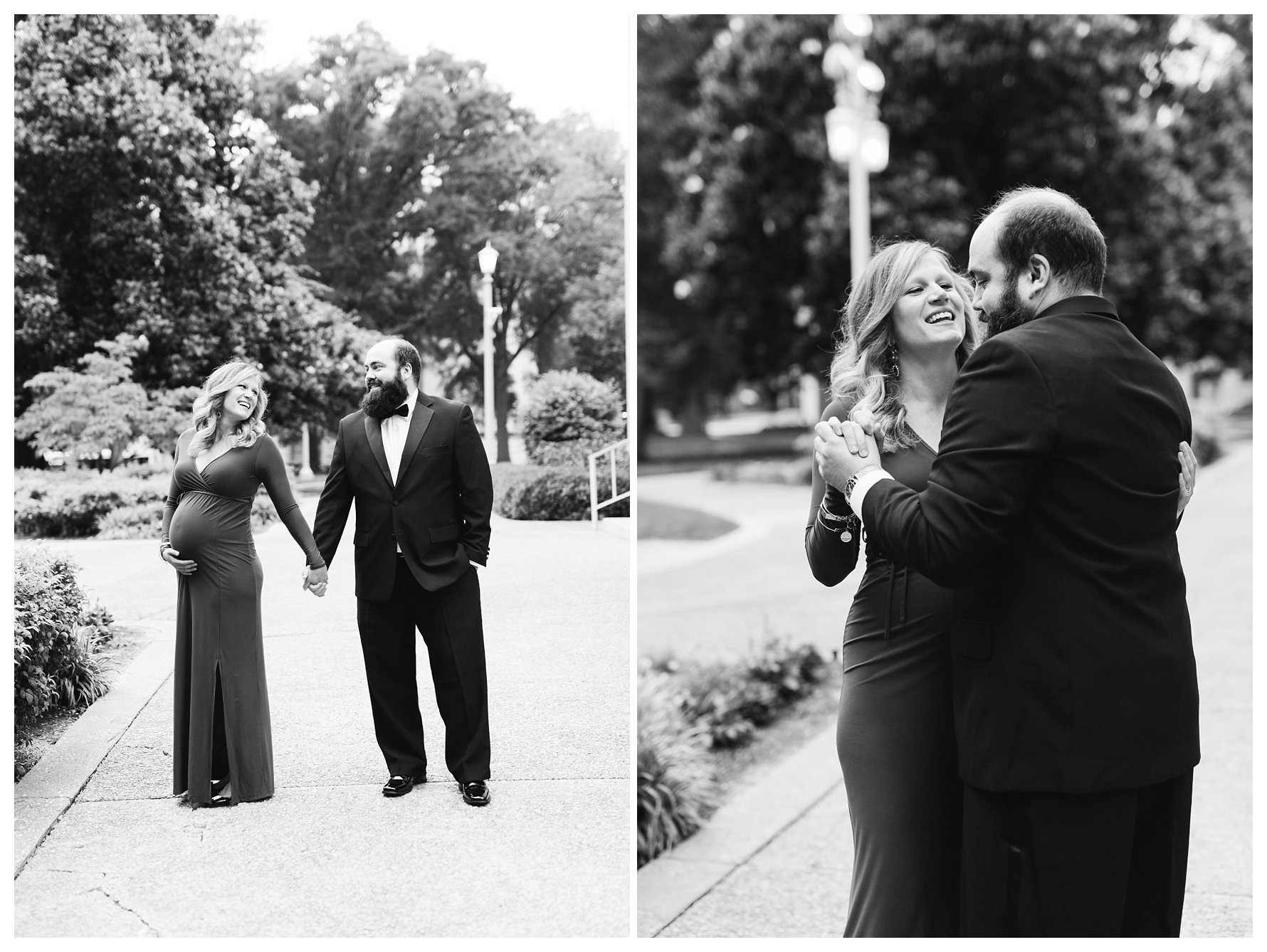 Raleigh_NC_Formal_Maternity_Photography_Blue_Black_Tie_0011