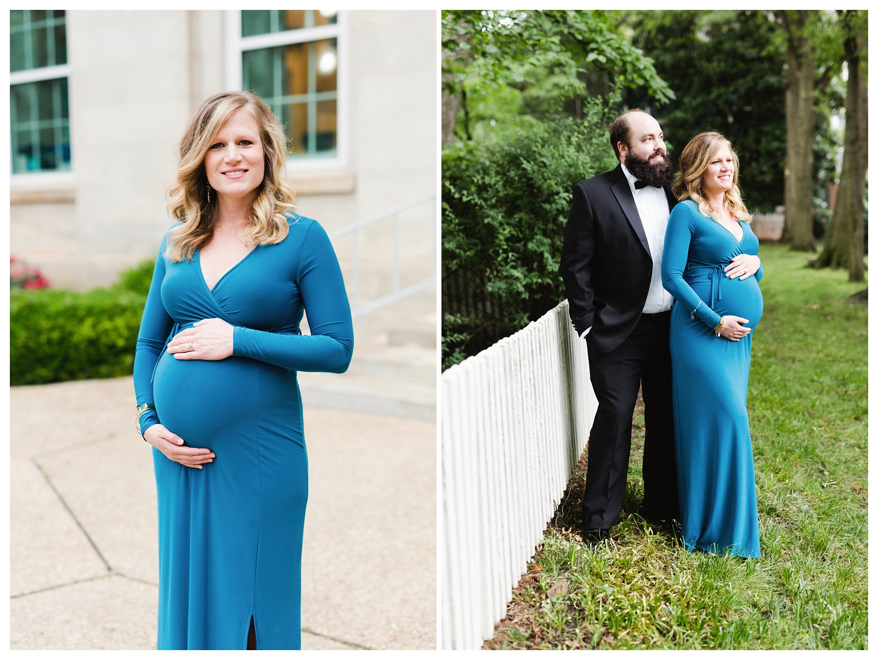 A Formal and Classic Look for Maternity Photos