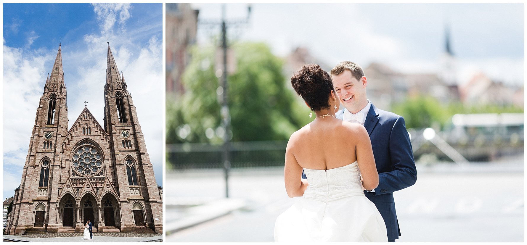 French American Wedding in Strasbourg France
