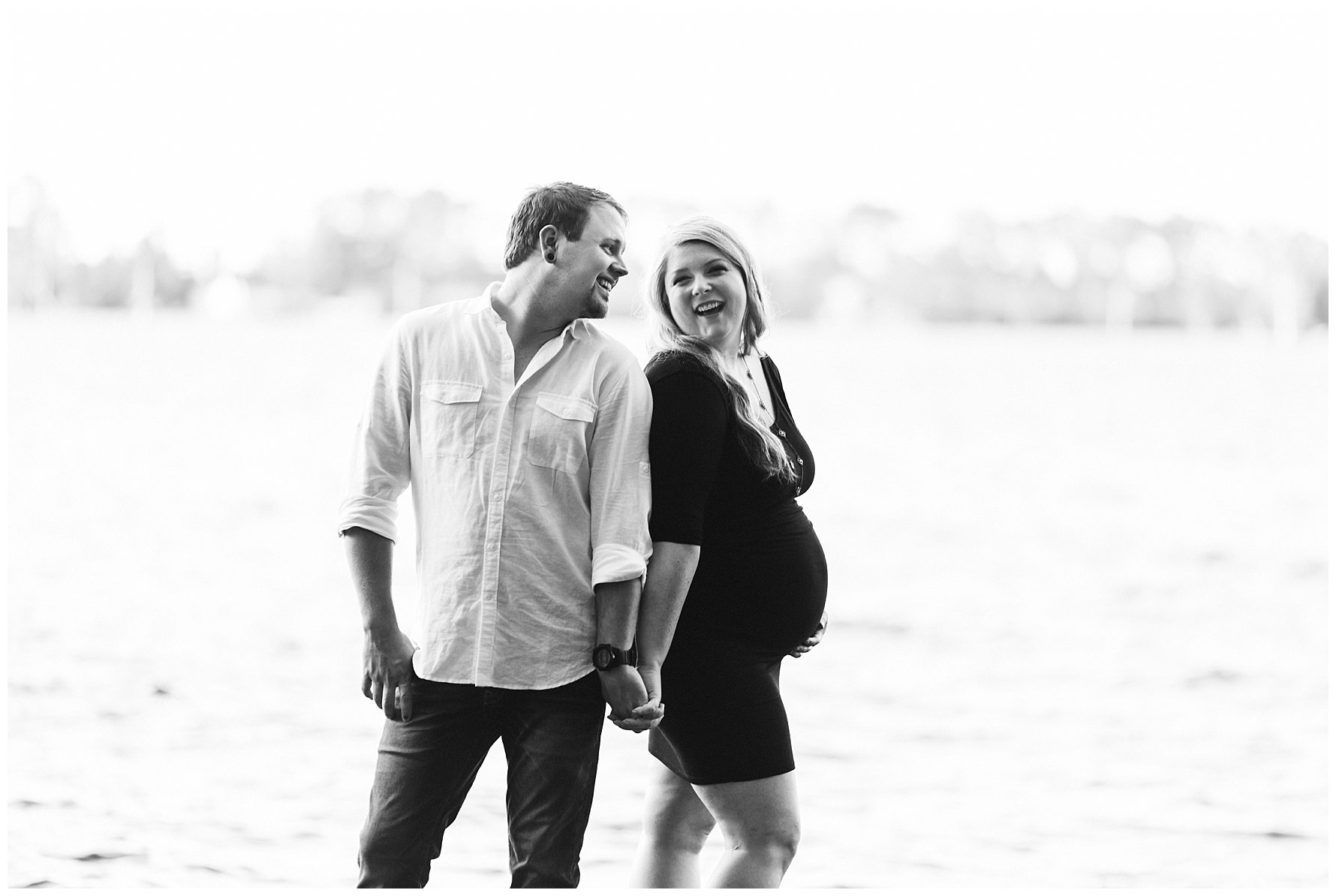 olden Hour Maternity Session by Amanda and Grady Photography
