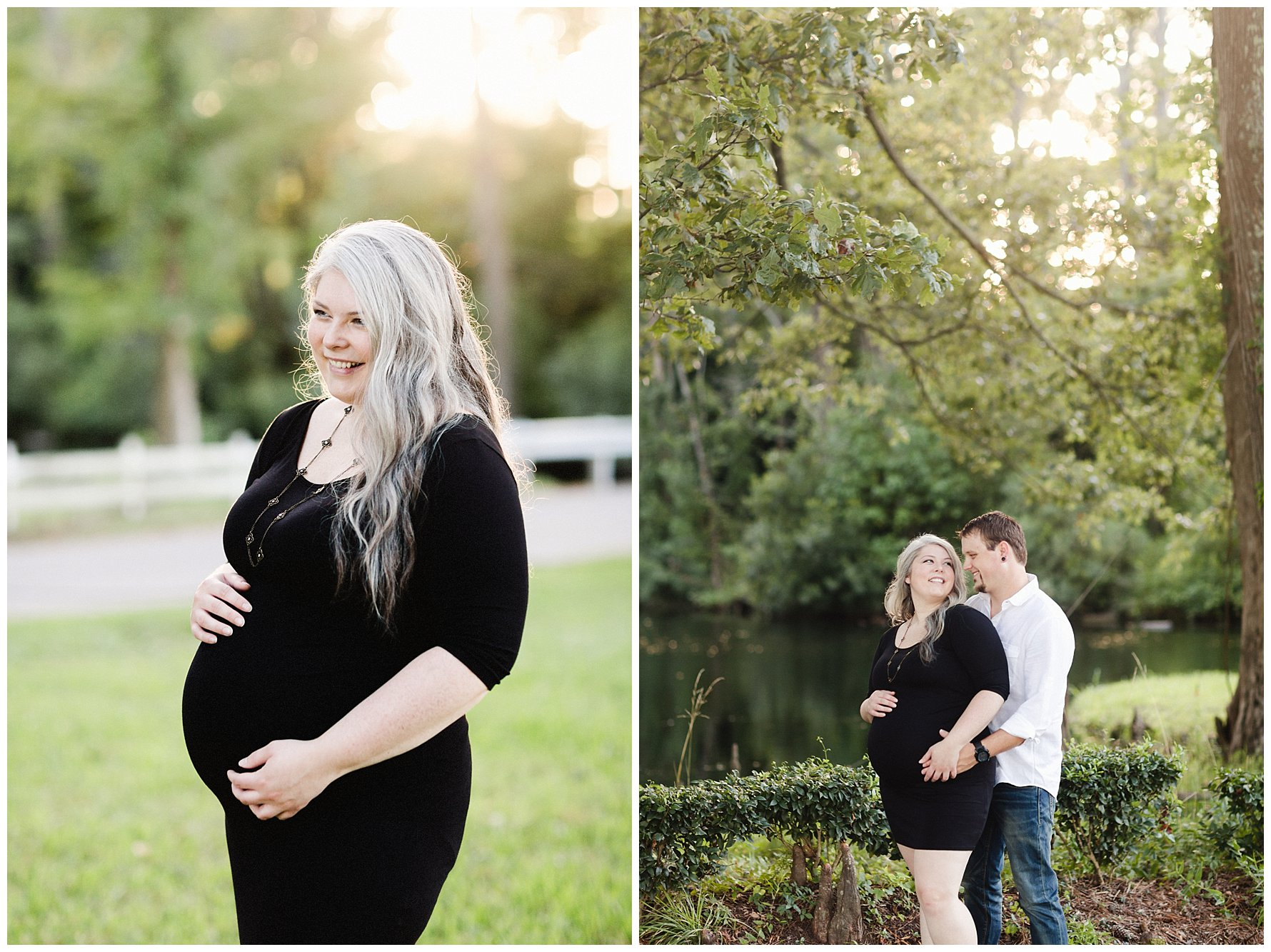 Golden Hour Maternity Session by Amanda and Grady Photography