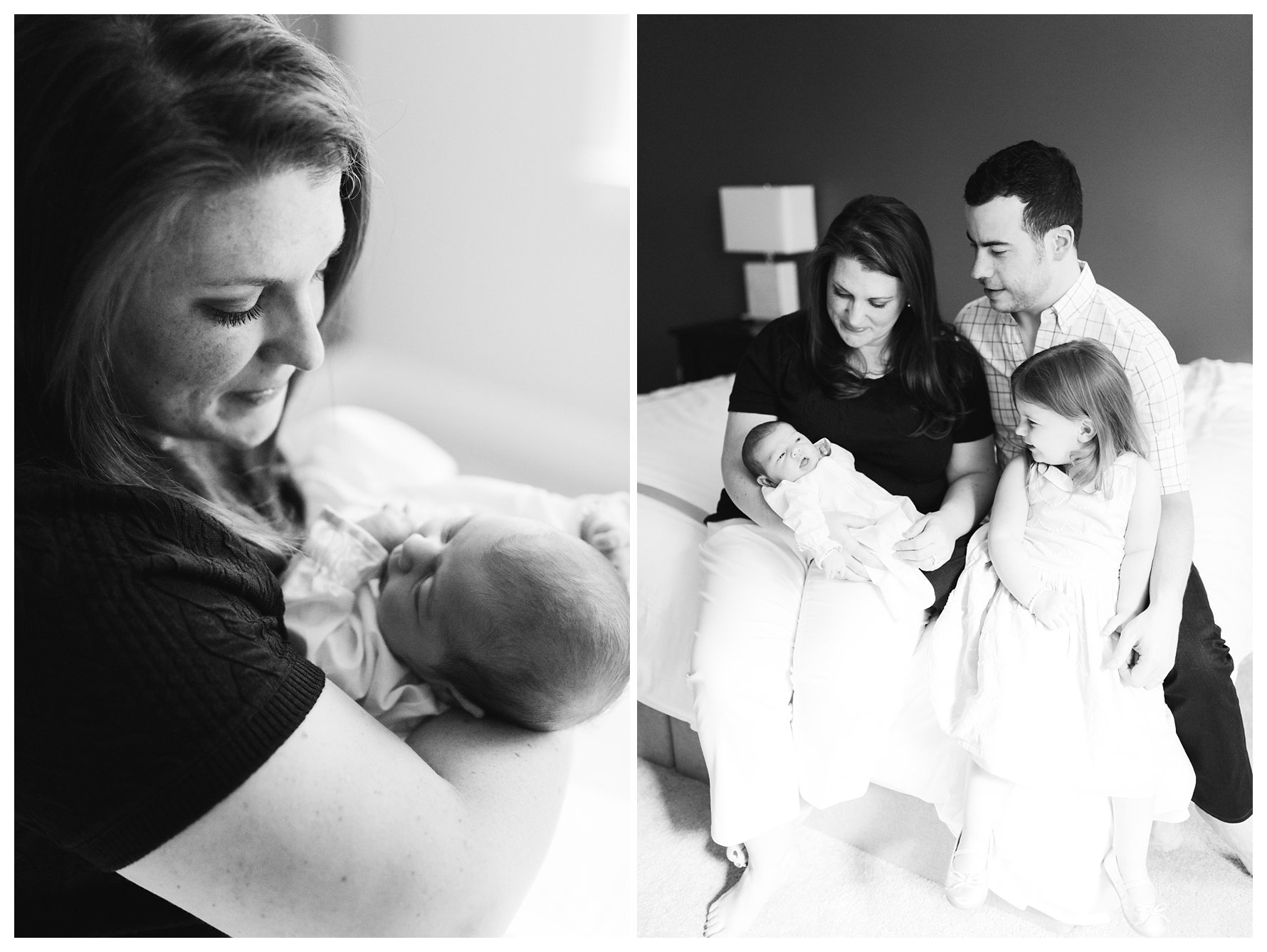 Raleigh, NC Newborn Photography by Amanda & Grady