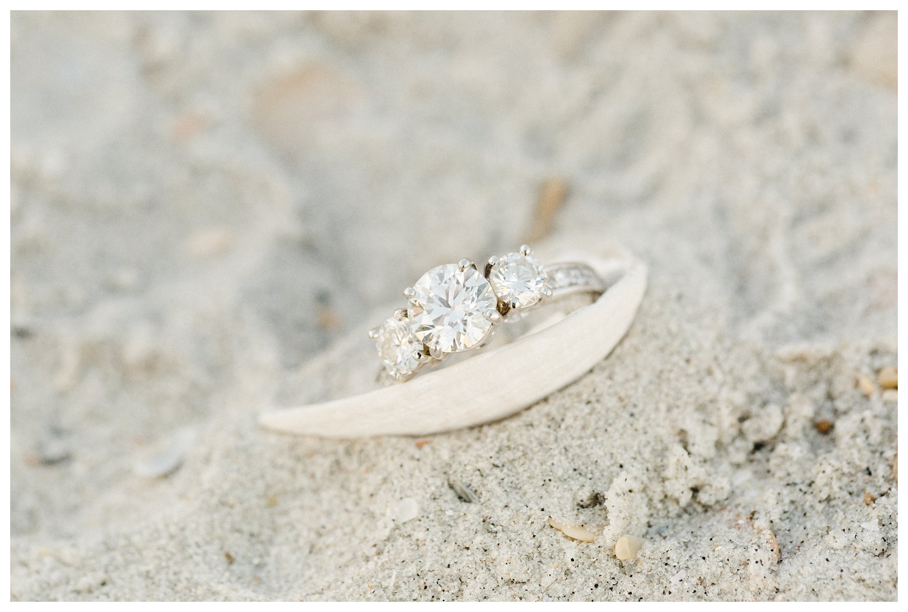 Figure Eight Island Engagement Photography by Amanda and Grady