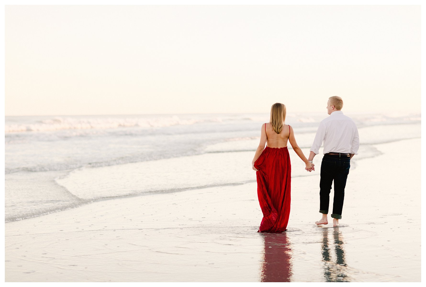 NC Beach Engagement Session by Amanda and Grady