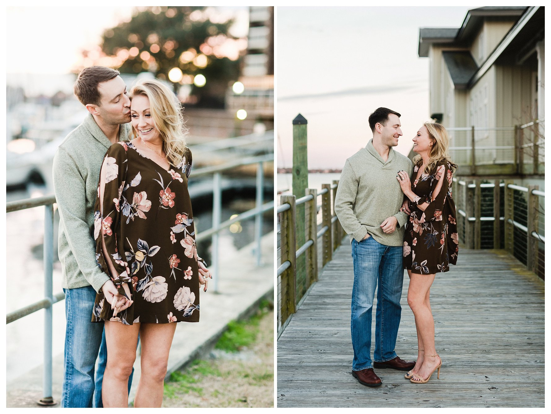 New Bern NC Waterfront Engagement Session