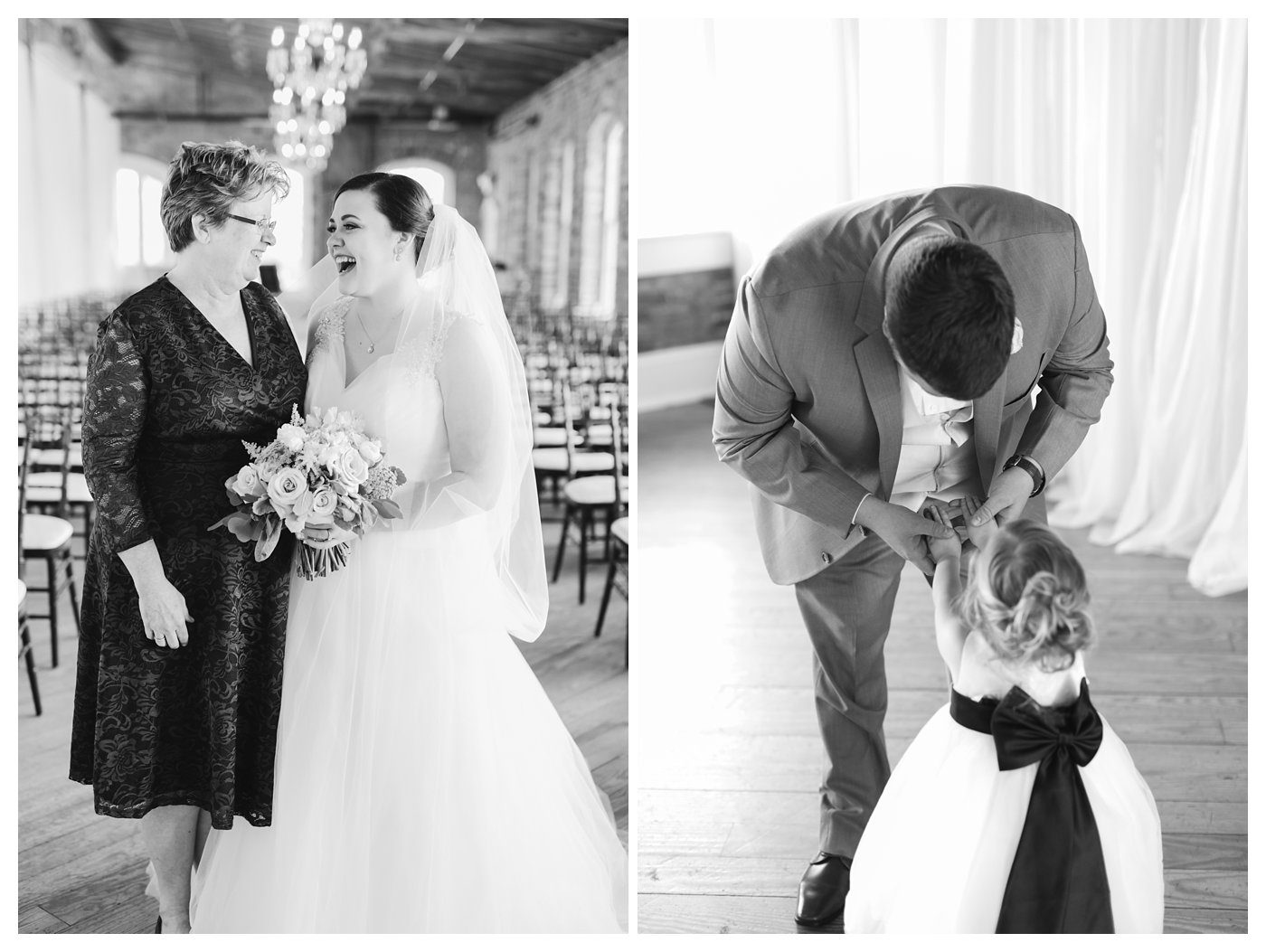 Melrose Knitting Mill Wedding in Downtown Raleigh