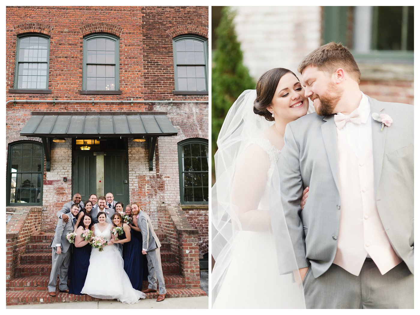 Industrial Downtown Raleigh NC Wedding by Amanda and Grady