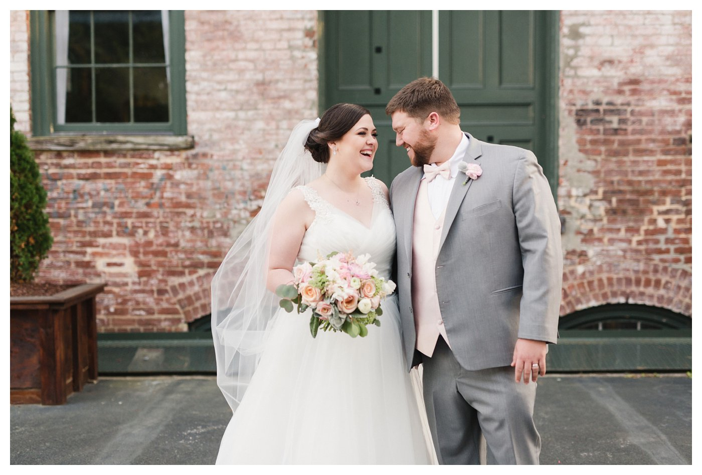 Blue and Gold Wedding in Raleigh NC
