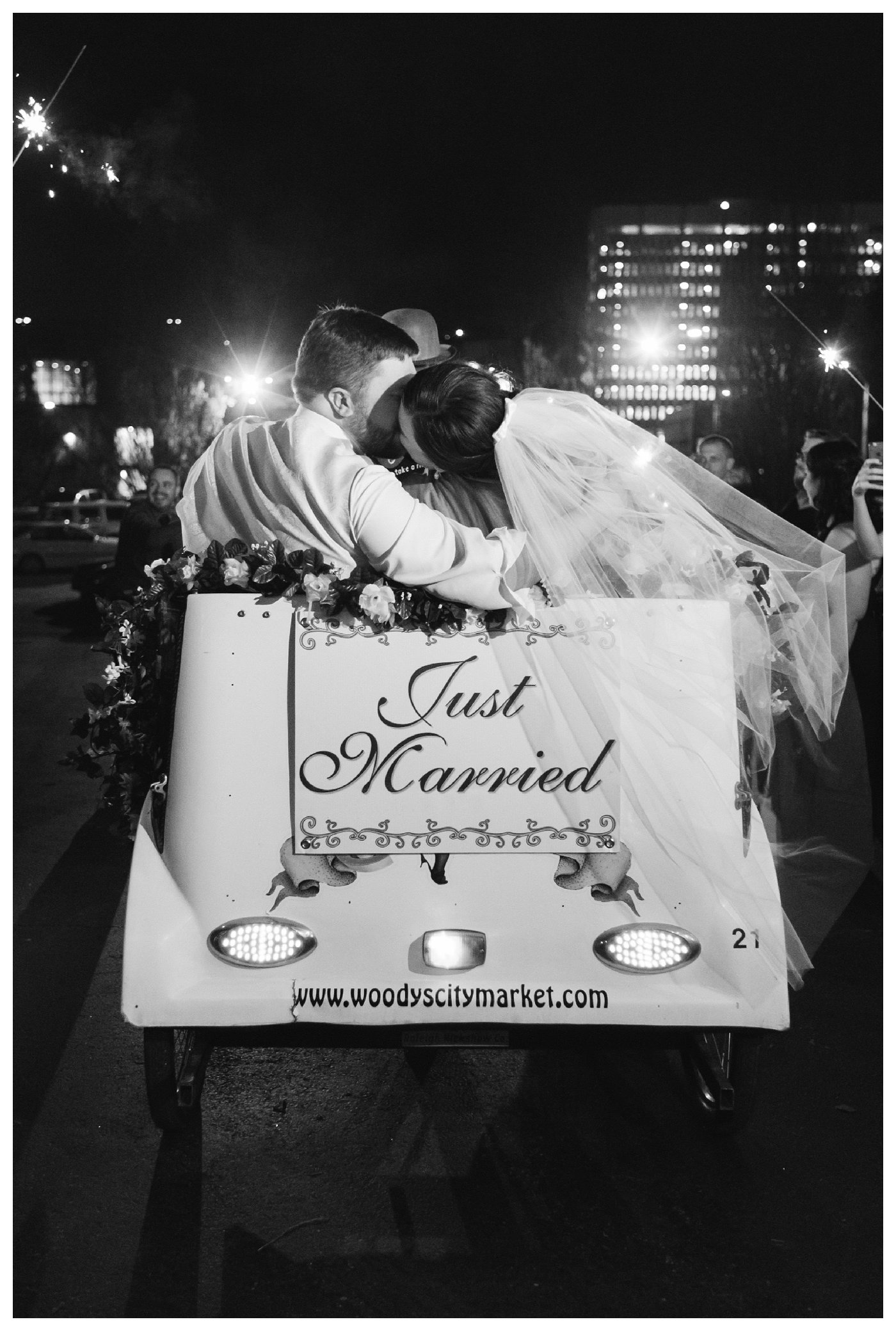 Raleigh Rickshaw Exit by Amanda and Grady Photography