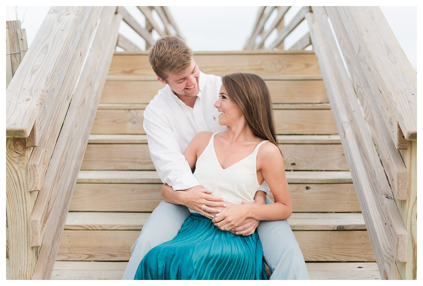 Ocean_Isle_NC_Beach_Engagement_Session_Turqoise_White_Candlelit_0006.jpg
