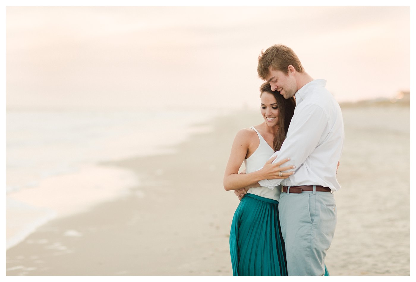 Ocean_Isle_NC_Beach_Coastal_Engagement_Session_Turqoise_White_Candlelit_0008.jpg