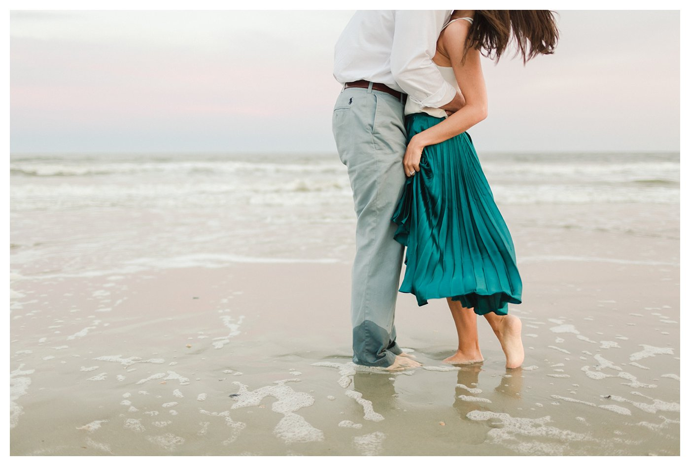 Ocean_Isle_NC_Beach_Coastal_Engagement_Session_Turqoise_White_Candlelit_0009.jpg
