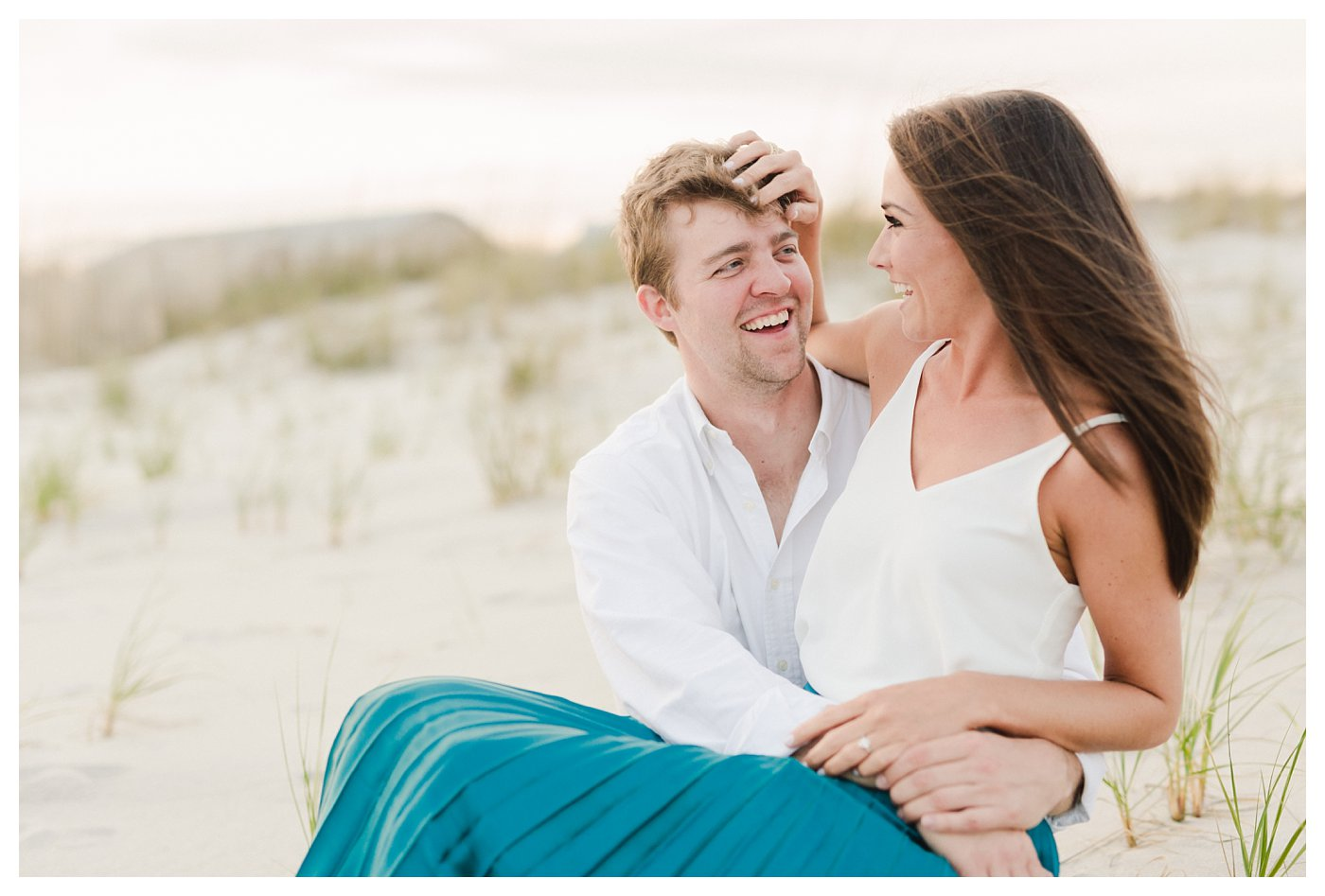 Ocean_Isle_NC_Beach_Coastal_Engagement_Session_Turqoise_White_Candlelit_0010.jpg