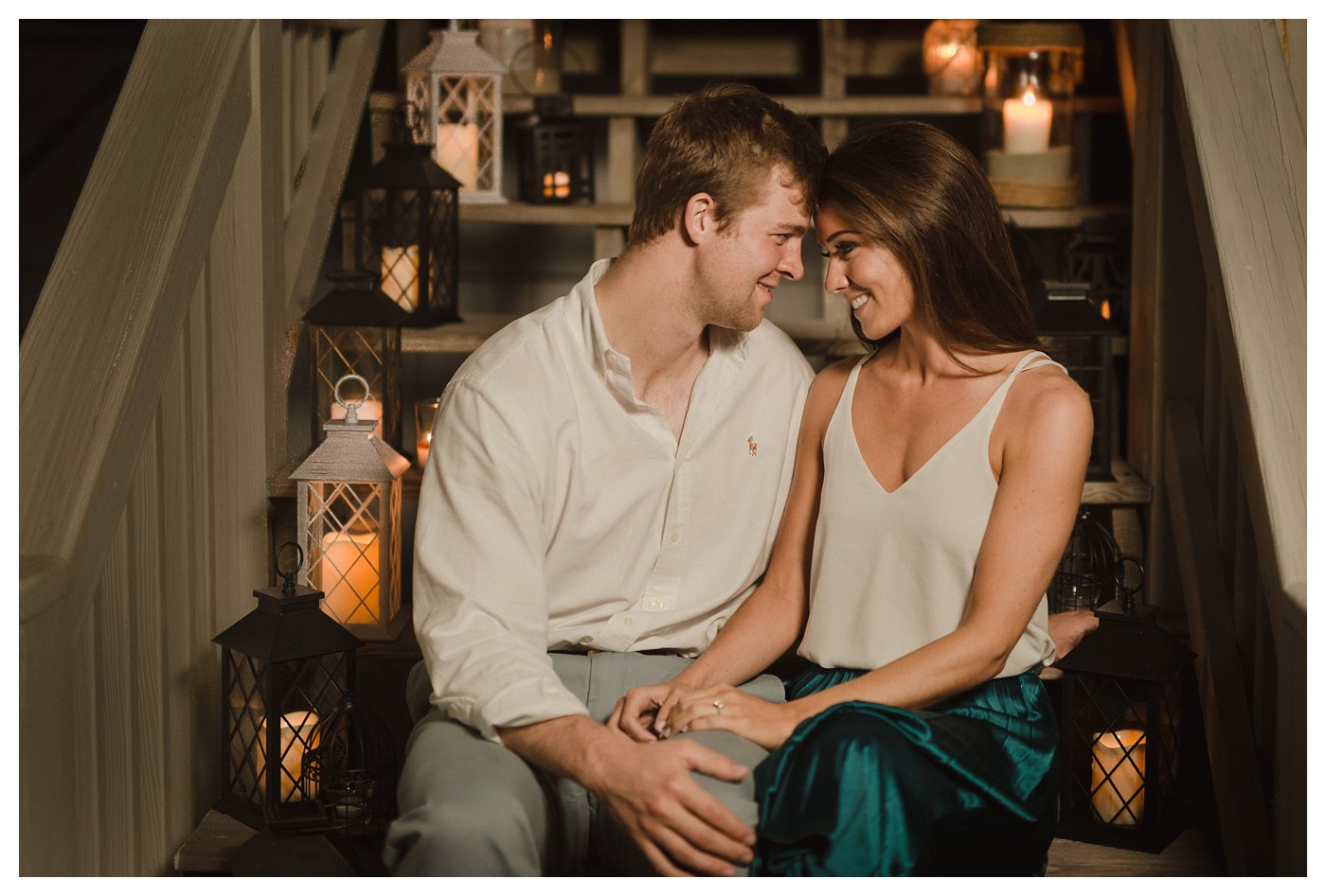 Ocean_Isle_NC_Coastal_Beach_Engagement_Session_Turqoise_White_Candlelit_0014.jpg