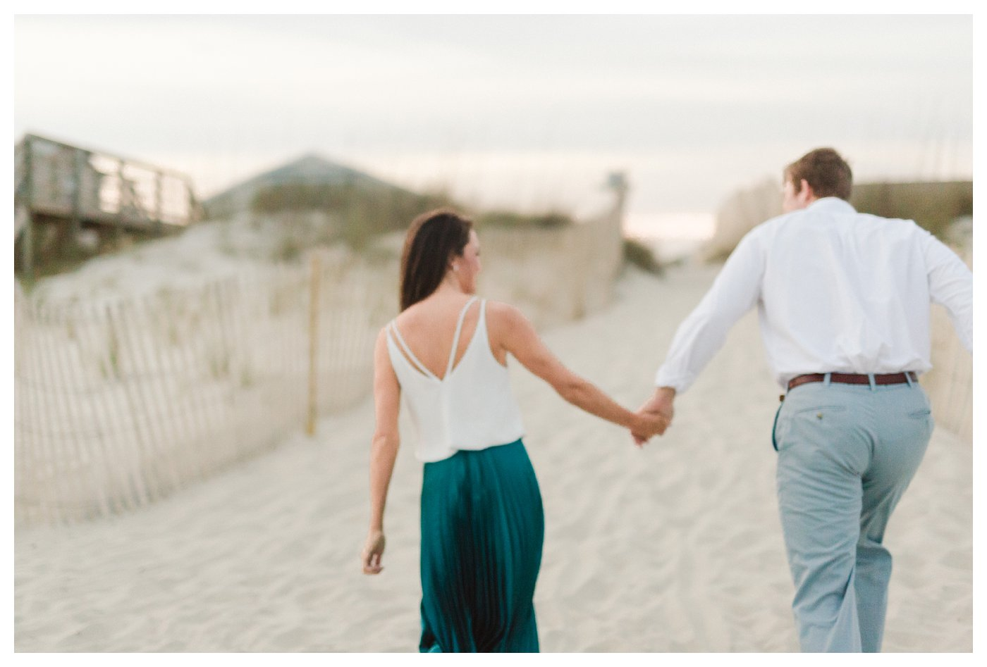 Coastal Ocean Isle Beach Engagement Session by Amanda and Grady Photogrpahy