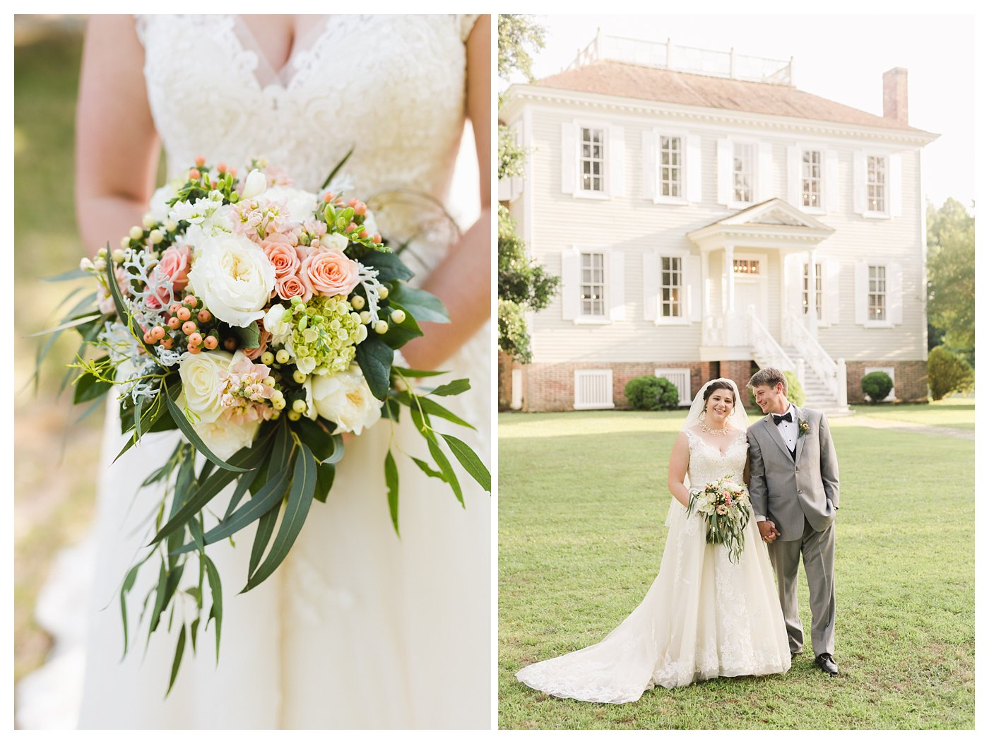 Historic Hope Plantation Wedding Photography by Amanda and Grady