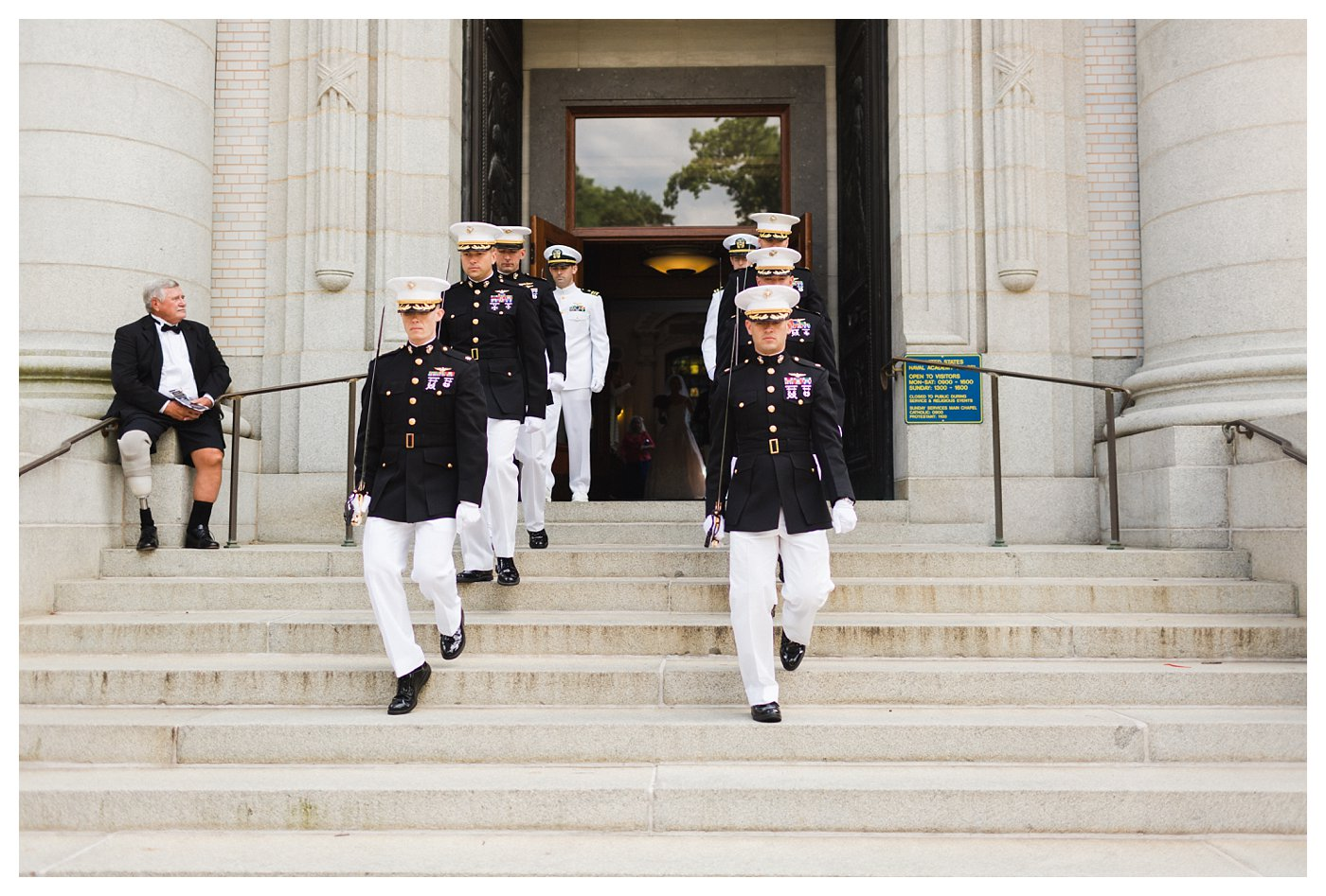 Arch of the Swords at the United States Naval Academy by Amanda and Grady Photography