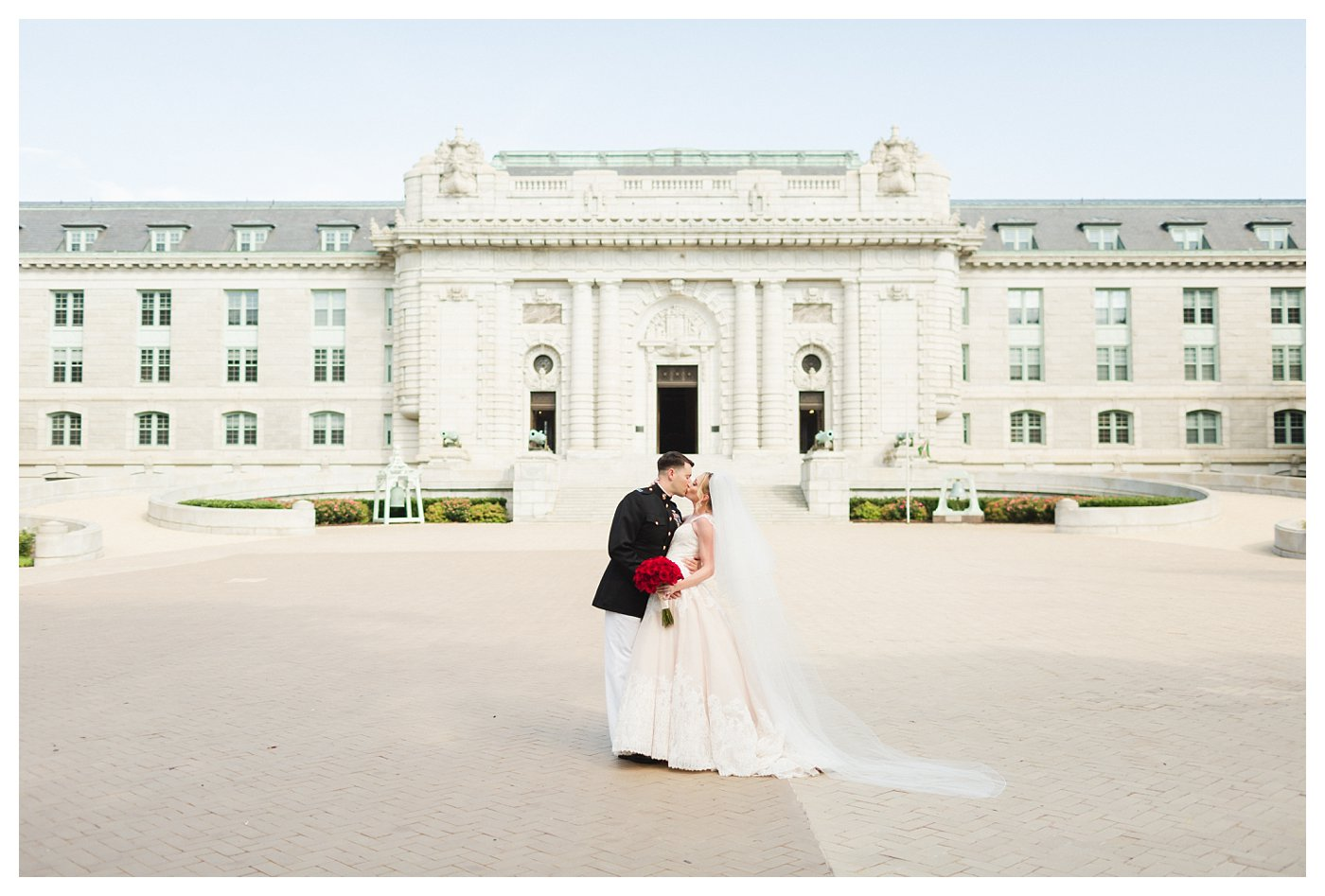 United States Naval Academy Wedding Photography by Amanda and Grady Photogrpahy