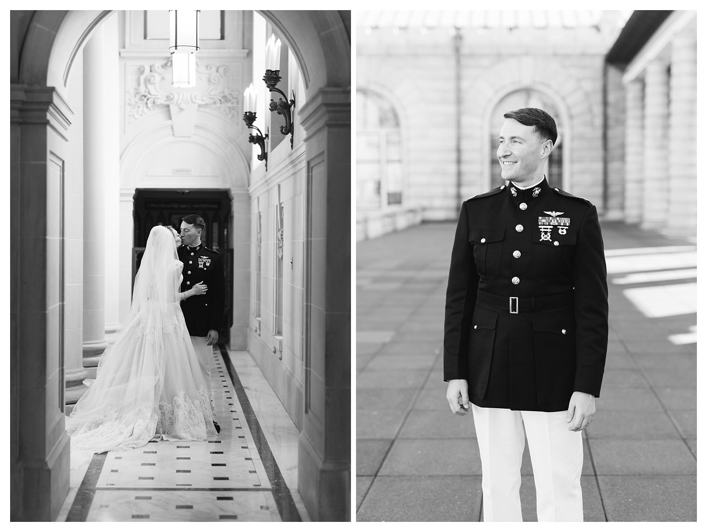 Bancroft Hall Wedding Photography by Amanda and Grady Photography