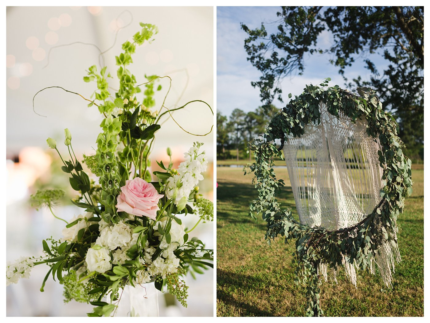 Boho Raleigh NC Wedding Photography at Double C Ranch