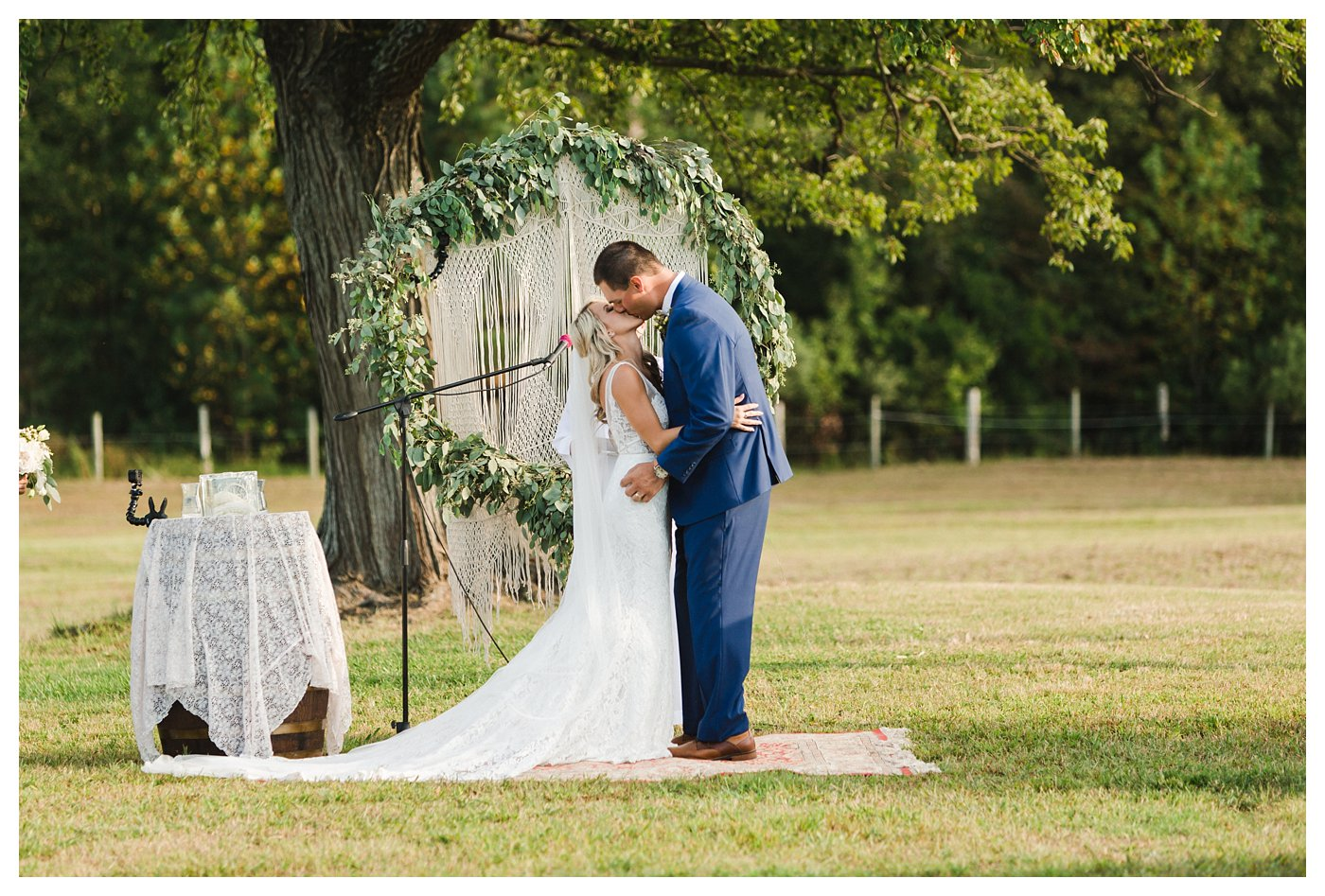 Raleigh, NC Wedding Photographer at Double C Ranch