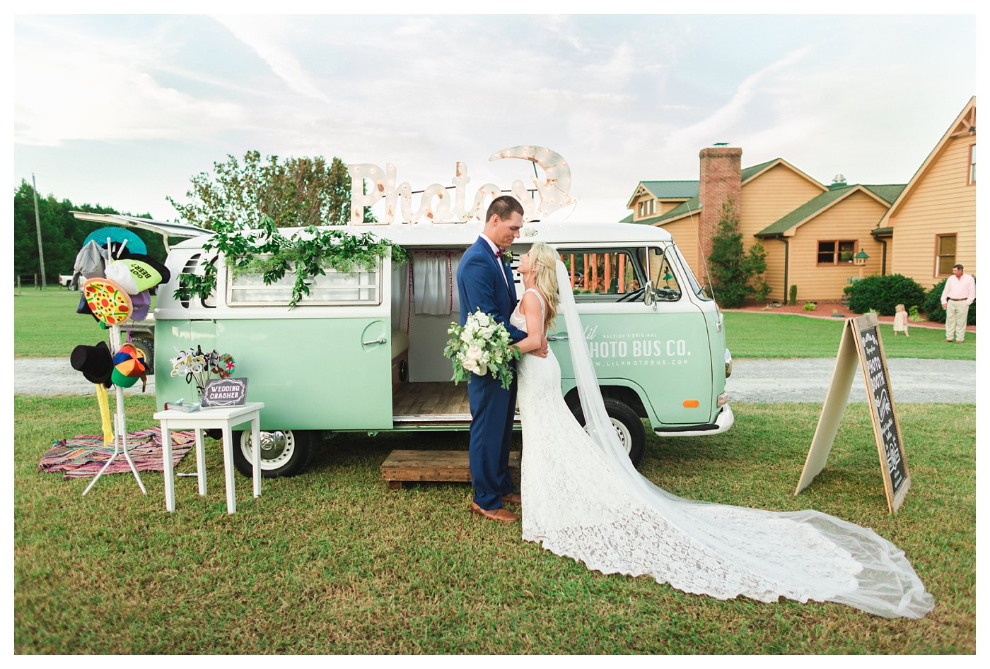 Raleigh, NC Wedding Photography by Amanda and Grady Lil Photo Bus