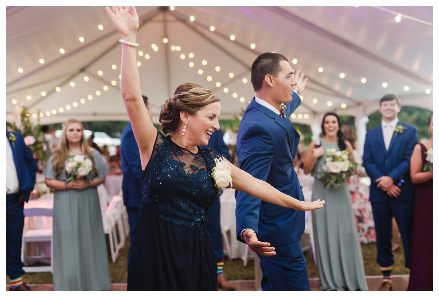 Mother Son Dance at Double C Ranch by Amanda and Grady Photography