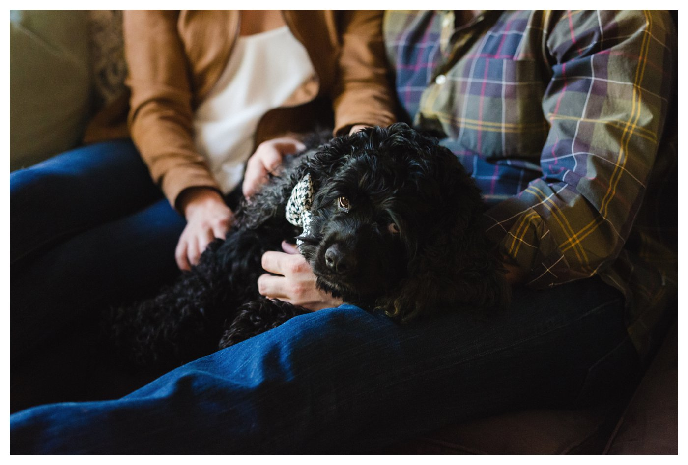 At Home Engagement Session in Dallas Texas by Amanda and Grady Photography